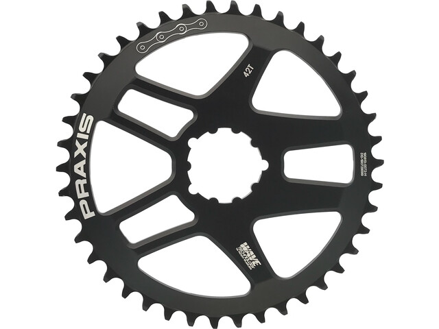 Praxis Works Wave Road Chainring 9/10/11/12-speed DM